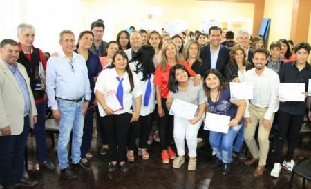 Acceso Laboral: fueron certificados los primeros jóvenes capacitados en Pocito