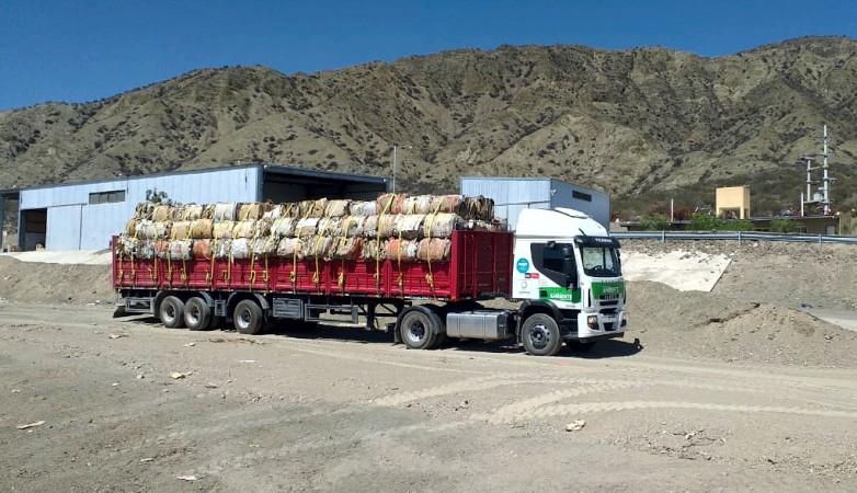 El Centro de Residuos de Jáchal dispuso de 30 mil kilos de materiales recuperados