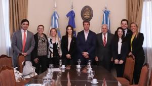 Sergio Uñac recibió a la directora del Centro de Comunicación de Naciones Unidas