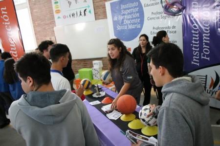 Hasta este jueves estudiantes podrán visitar la Feria Educativa 2019