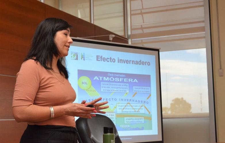 Licenciada Antonella Rizzo, referente internacional del proyecto Salud sin Daño