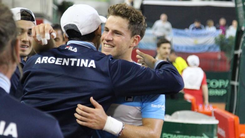 Copa Davis: primer punto para Argentina
