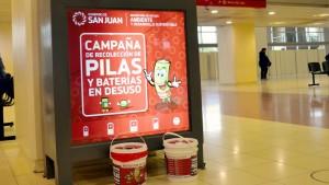La campaña de recolección de pilas festeja sus 10 años con presencia en la FNS