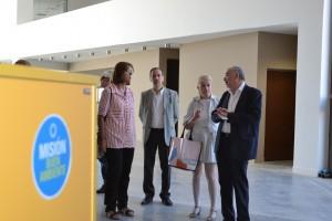 Integrantes de la Unión Iberoamericana de Municipalistas visitaron el Anchipurac