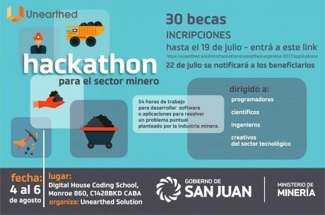 Becarán a 30 personas para el Hackathon