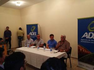 Presentaron el programa de asistencia financiera para viñateros y bodegueros en San Martín