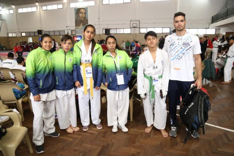 Taekwondistas de Barreal, por primera vez en Mar del Plata