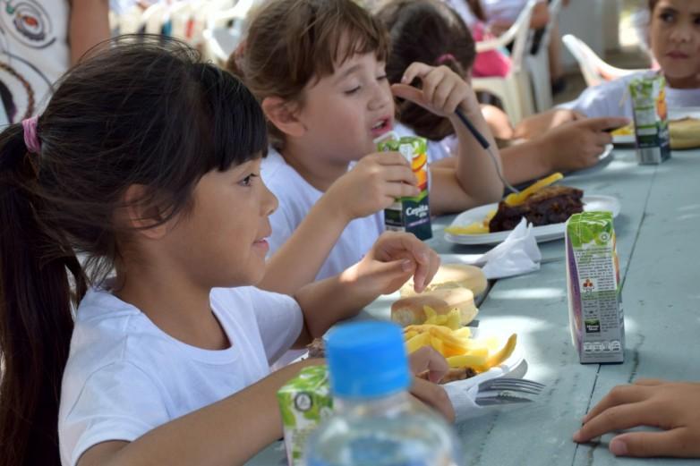 Seguridad nutricional, eje para el desarrollo de los asistentes a las colonias