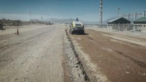 Avanzan los trabajos para renovar una ruta provincial clave en Ullum