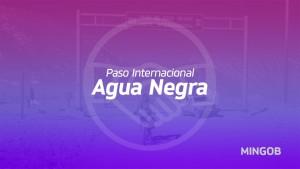 Recomendaciones y productos permitidos en el paso de Agua Negra