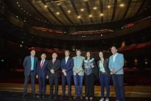 Sorprendió al gobernador de Santa Fe la calidad del Teatro del Bicentenario
