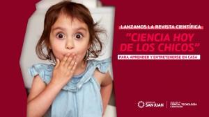 Una revista online para incentivar el interés por la ciencia