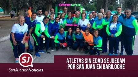 Atletas sin edad se juegan por San Juan en Bariloche