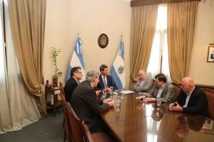 El director de INTI Mendoza visitó a Sergio Uñac