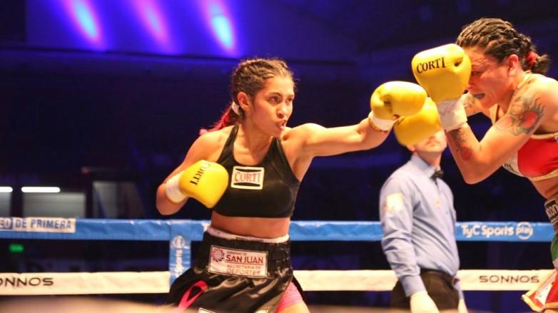 Leonela Yúdica se prepara para su novena defensa