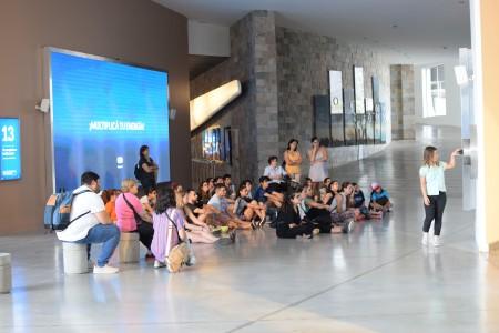 Jóvenes de la Unión Cultural Argentino-Libanesa recorrieron Anchipurac