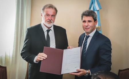 El gobernador Uñac y el embajador Bielsa analizaron las relaciones bilaterales con Chile