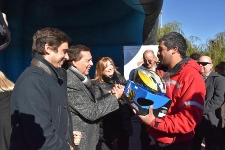 Gran operativo del Ministerio de Gobierno en Albardón