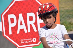 Jugando, los más chicos aprenden sobre las normas de seguridad vial