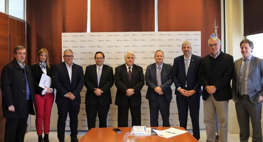 El ministro Díaz Cano se reunió con el embajador de Israel