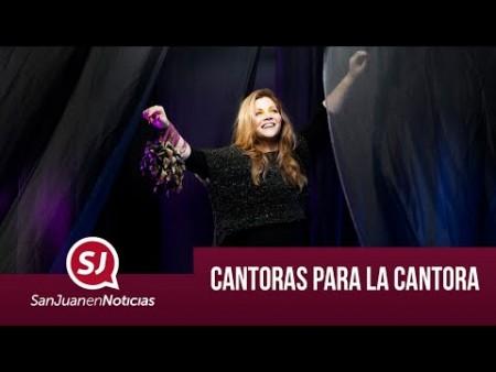 Cantoras para la cantora | #SanJuanEnNoticias
