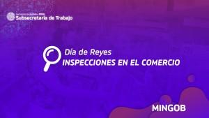 Subsecretaría de Trabajo realizó inspecciones en comercios