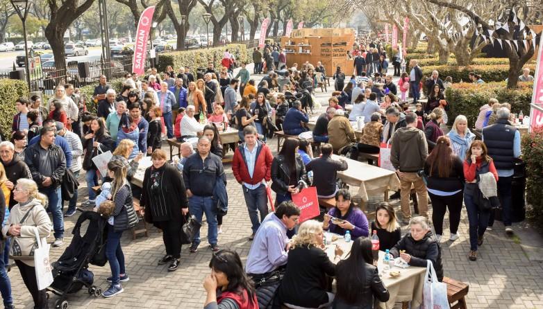 Más de 12 mil personas disfrutaron de la gastronomía sanjuanina en Buenos Aires