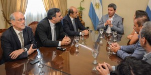 La cúpula del turismo argentino se reunió con Uñac