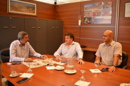 El ministro Astudillo recibió a la Cámara Minera de San Juan
