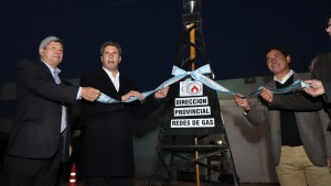 Inauguraron red de gas para 2000 hogares de la villa cabecera de 9 de Julio