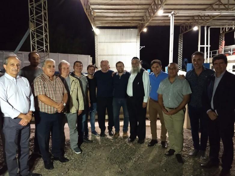 El ministro de Producción visitó una bodega exportadora en San  Martín