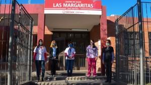 El Centro de Salud Las Margaritas da talleres virtuales para embarazadas