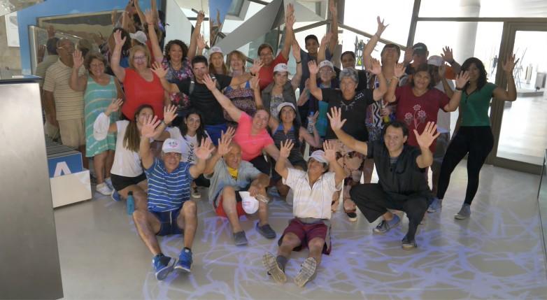Más de 300 adultos mayores de las Colonias de Verano ya visitaron Anchipurac