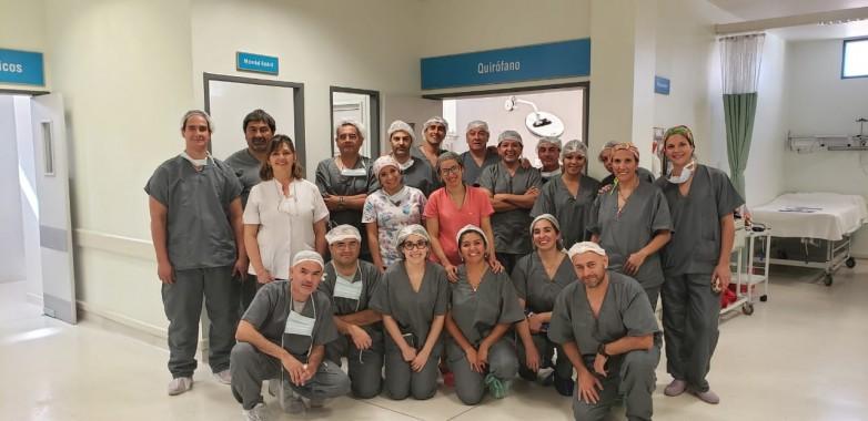 Se reactivaron las  cirugías en Barreal
