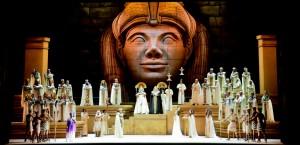 Aida, una historia de amor, guerra y traición en el antiguo Egipto