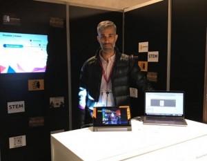 Sanjuanino participó en París de la feria de realidad virtual más importante del mundo
