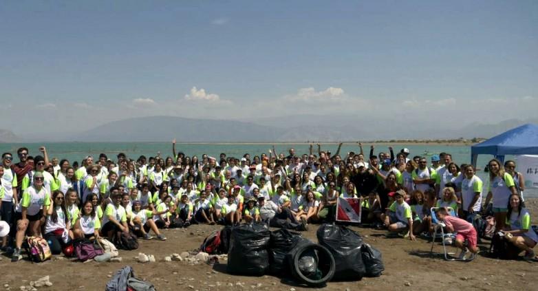 Más de 700 voluntarios juntaron 1600 kilos de residuos