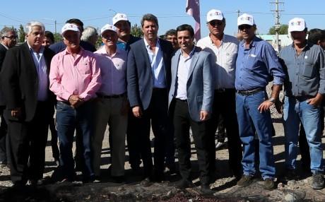 Nuevas obras para San Martín: secadero, salas velatorias, pavimento y SUM