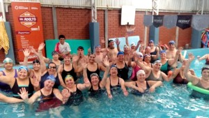 La natación, con plena actividad en el Club del Adulto Mayor