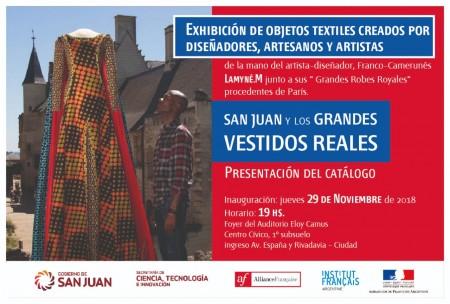 Antes de exponer en Francia, sanjuaninos muestran sus creaciones textiles