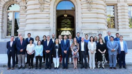 El ministro De Los Ríos participó de la apertura del 94° Consejo Federal de Educación