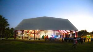 Inauguración de techo e iluminación para el SEC