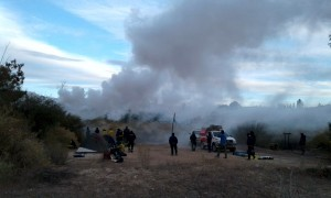 Personal de Áreas Protegidas fue capacitado en control de incendios forestales