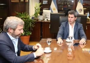 Rogelio Frigerio visitó al gobernador
