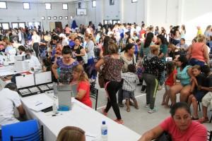 Valle Grande: 1500 personas fueron asistidas en el primer día de abordaje
