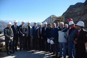 Autoridades nacionales visitaron diversas obras públicas en la provincia
