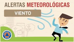 Alerta Meteorológica N° 70 - Ingreso de viento Sur