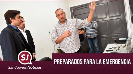 Preparados para la emergencia | #SanJuanEnNoticias