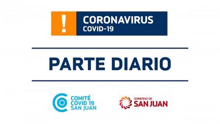 Parte de Salud Pública sobre coronavirus Nº83 - 1/06