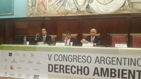 San Juan participó del V Congreso Argentino de Derecho Ambiental